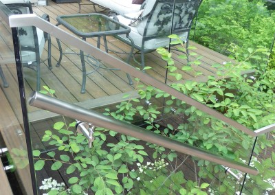 Detail of stair & railing