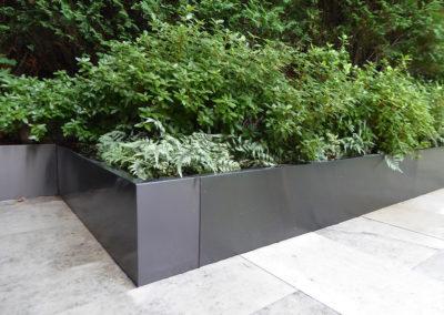 steel/planter/Landscape/Design