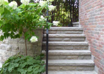 Rosedale/steel/planter/Landscape/Design