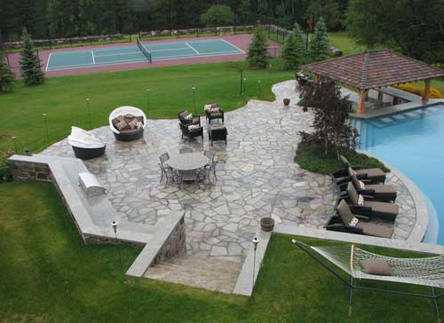 backyard landscaping features